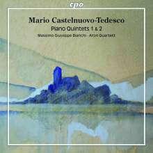 Mario Castelnuovo-Tedesco (1895-1968): Klavierquintette Nr.1 & 2, CD