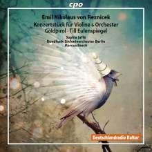 Emil Nikolaus von Reznicek (1860-1945): Konzertstück E-Dur für Violine & Orchester, CD