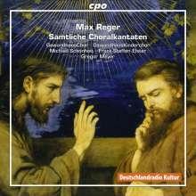 Max Reger (1873-1916): Sämtliche Choralkantaten, CD