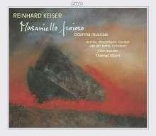 Reinhard Keiser (1674-1739): Masaniello Furioso, 2 CDs