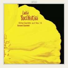 Luigi Boccherini (1743-1805): Streichquartette op.2 Nr.1-6, CD