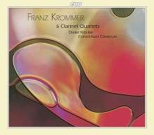 Franz Krommer (1759-1831): 6 Klarinettenquartette, 2 CDs