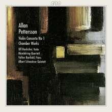 Allan Pettersson (1911-1980): Violinkonzert Nr.1 für Violine & Streichquartett, CD