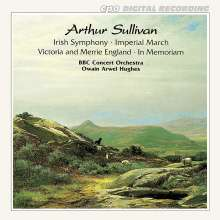 "Arthur Sullivan (1842-1900): Symphony in E ""Irish"", CD"