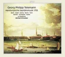 Georg Philipp Telemann (1681-1767): Hamburgische Kapitänsmusik (1755), 2 CDs