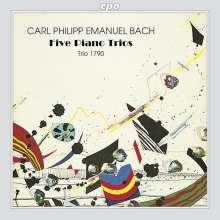 Carl Philipp Emanuel Bach (1714-1788): 6 Klaviertrios, CD