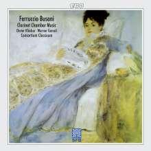 Ferruccio Busoni (1866-1924): Kammermusik für Klarinette, CD