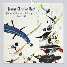 Johann Christian Bach (1735-1782): Klaviertrios op.2 & op.15, CD