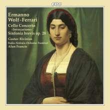 Ermanno Wolf-Ferrari (1876-1948): Cellokonzert op.31, CD