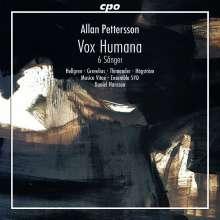 "Allan Pettersson (1911-1980): Kantate ""Vox Humana"" für Soli, Chor & Orchester, CD"