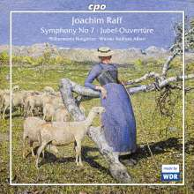 """Joachim Raff (1822-1882): Symphonie Nr.7 """"In den Alpen"""", CD"""