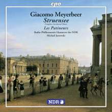 Giacomo Meyerbeer (1791-1864): Struensee (Bühnenmusik), CD