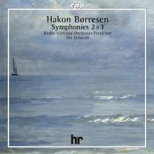 Hakon Börresen (1876-1954): Symphonien Nr.2 & 3, CD