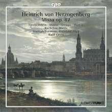 Heinrich von Herzogenberg (1843-1900): Messe e-moll op.87, CD