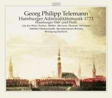 Georg Philipp Telemann (1681-1767): Hamburger Admiralitätsmusik 1723, 2 CDs