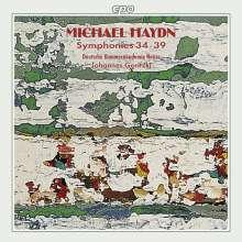 Michael Haydn (1737-1806): Symphonien Nr.34-39, CD