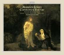 Heinrich Schütz (1585-1672): Cantiones Sacrae SWV 53-93, 2 CDs