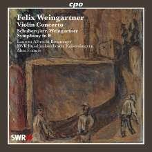 Felix Weingartner (1863-1942): Violinkonzert G-Dur op.52, CD