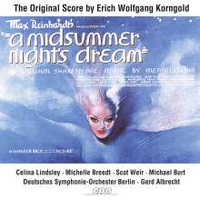 Erich Wolfgang Korngold (1897-1957): Filmmusik: Ein Sommernachtstraum (Filmmusik), CD