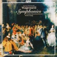 Georg Christoph Wagenseil (1715-1777): 5 Symphonien, CD