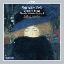Alma Mahler-Werfel (1879-1964): Sämtliche Klavierlieder, CD