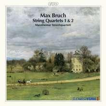 Max Bruch (1838-1920): Streichquartette Nr.1 & 2, CD