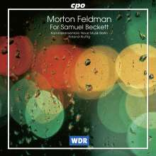 Morton Feldman (1926-1987): For Samuel Beckett, CD