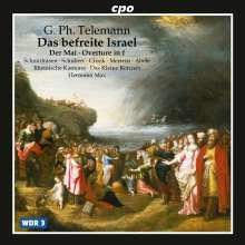 Georg Philipp Telemann (1681-1767): Das befreite Israel TWV 6:5 (Oratorium), CD