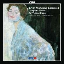 Erich Wolfgang Korngold (1897-1957): Kammermusik für Violine & Klavier (Gesamtaufnahme), CD