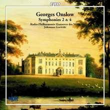 Georges Onslow (1784-1852): Symphonien Nr.2 & 4, CD