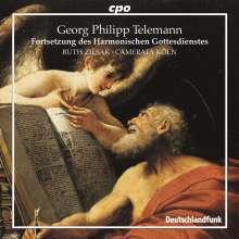 """Georg Philipp Telemann (1681-1767): 5 Kantaten aus """"Fortsetzung des Harmonischen Gottesdienstes"""", CD"""