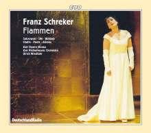 Franz Schreker (1878-1934): Flammen (Originalfassung für großes Orchester), CD
