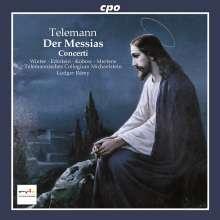 Georg Philipp Telemann (1681-1767): Der Messias, CD