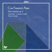 Carl Friedrich Abel (1723-1787): Klavierkonzerte op.11 Nr.1-6, CD