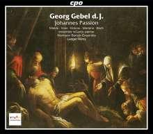 Georg Gebel (1709-1753): Johannes - Passion, 2 CDs