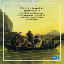 Friedrich Schneider (1786-1853): Symphonie Nr.17 c-moll, CD