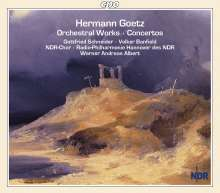 Hermann Goetz (1840-1876): Orchesterwerke, 3 CDs