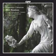 Domenico Cimarosa (1749-1801): Dixit Dominus, CD