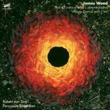 James Wood (geb. 1953): Village Burial with Fire für Schlagzeug-Quartett, CD