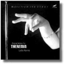 Lydia Kavina spielt Theremin, CD
