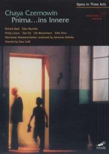 Chaya Czernowin (geb. 1957): Pnima...ins Leere (Oper in 3 Akten), DVD