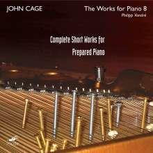 John Cage (1912-1992): Werke für präpariertes Klavier, 2 CDs