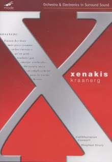 Iannis Xenakis (1922-2001): Kraanerg für 23 Instrumente & 4-Channel-Tape, DVD