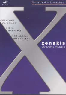Iannis Xenakis (1922-2001): Electronic Works 2, DVD