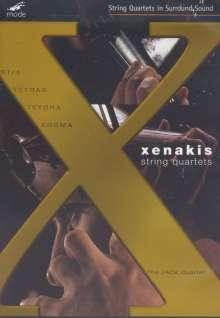 Iannis Xenakis (1922-2001): Sämtliche Streichquartette, DVD
