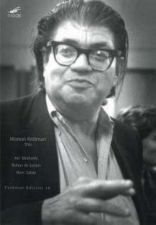 Morton Feldman (1926-1987): Klaviertrio (1980), DVD