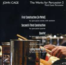John Cage (1912-1992): Works for Percussion 2, CD