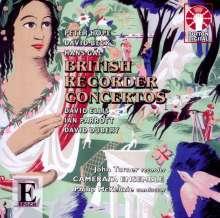 John Turner - British Recorder Concertos, CD