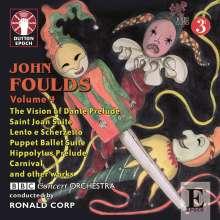 John Foulds (1880-1939): John Foulds Vol.4, CD