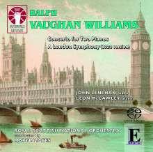 Ralph Vaughan Williams (1872-1958): Konzert C-Dur für 2 Klaviere & Orchester, Super Audio CD